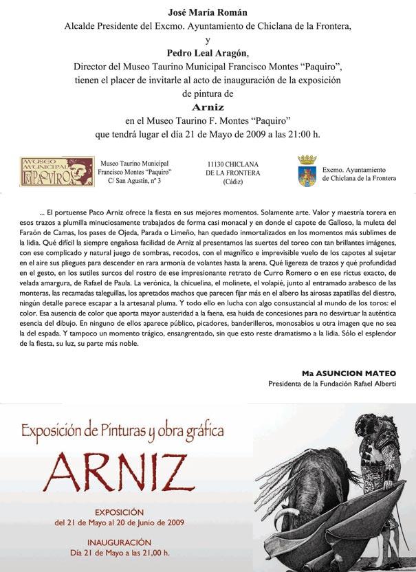 Exposición Arníz